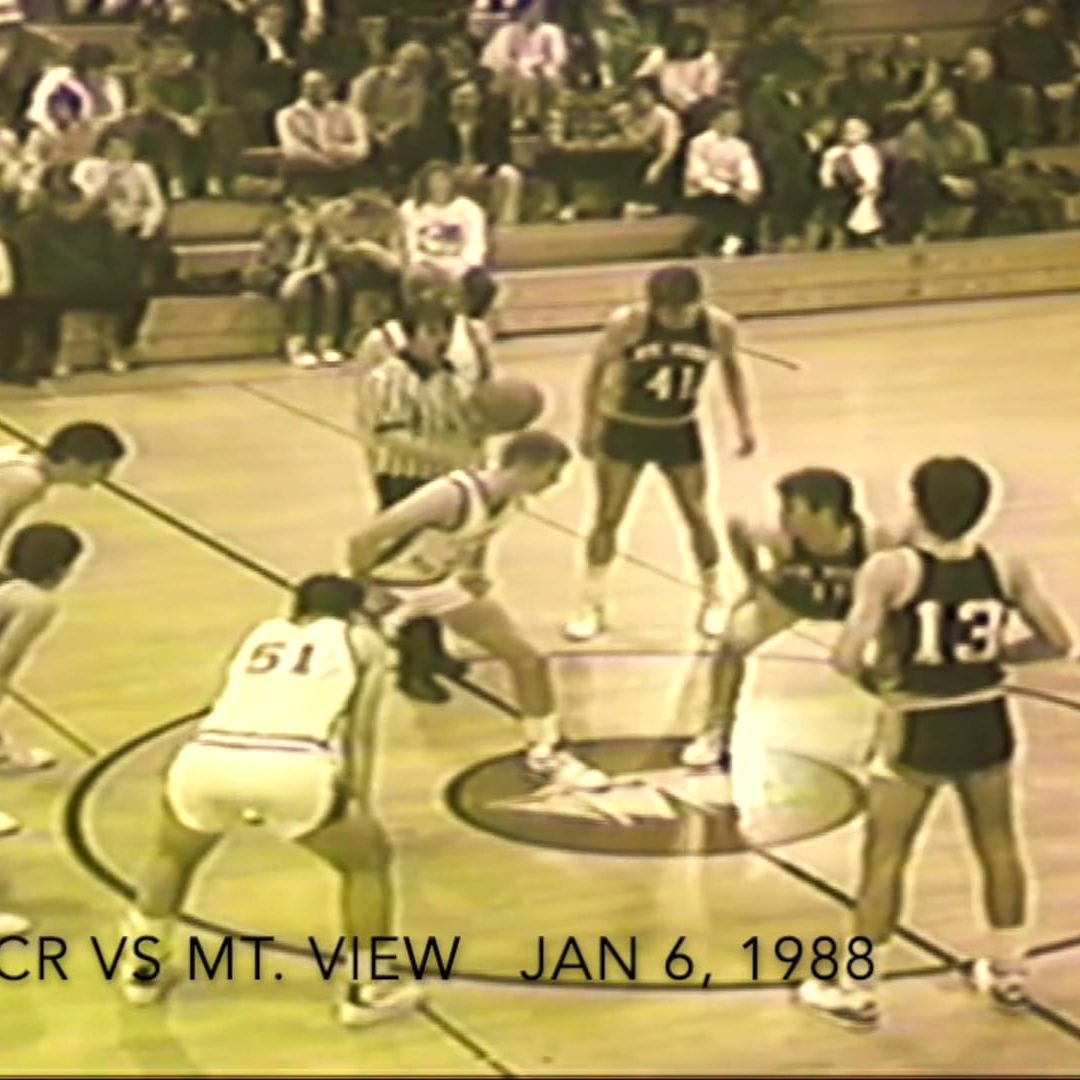 Vintage Boys Basketball Game # 28 : Camden-Rockport vs. Mt. View 1/6/1988