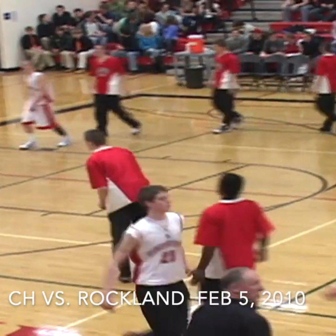 Vintage Boys Basketball Game # 38 : Camden Hills vs. Rockland  February 5, 2010