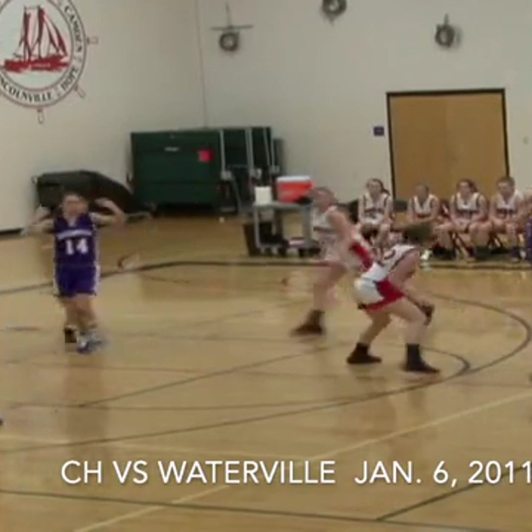 Vintage Girls Basketball game # 40: Camden Hills vs. Waterville 1/6/2011