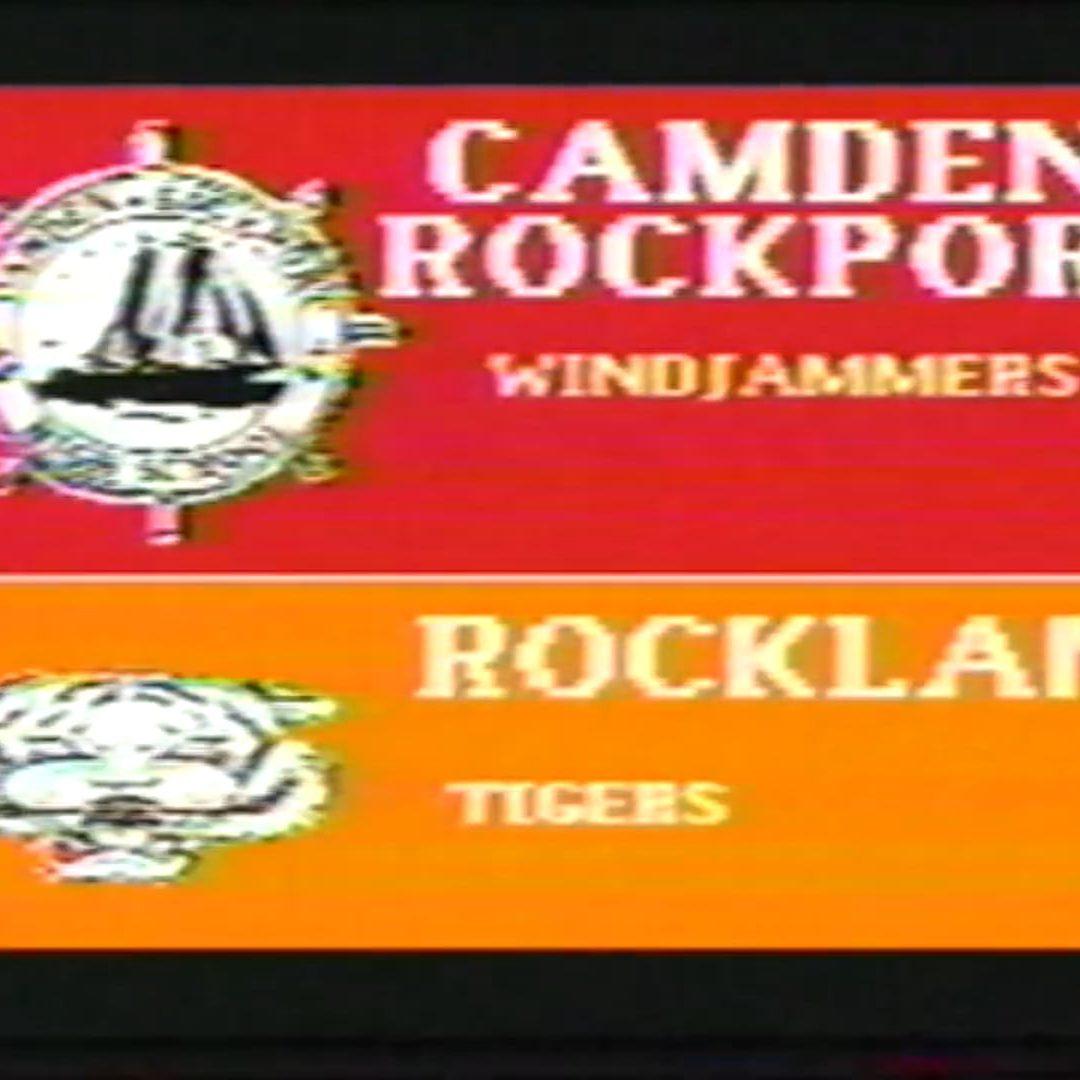 Vintage Boys Basketball Game : Camden-Rockport vs. Rockland  2/2/1993