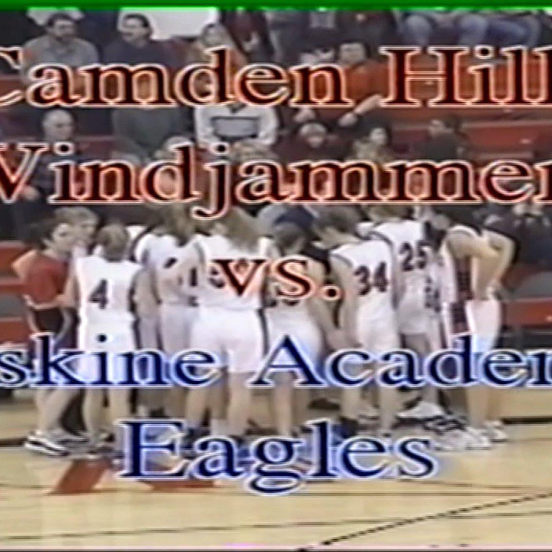 Vintage Girls Basketball # 42 : Camden Hills vs Erskine Academy January 13, 2001