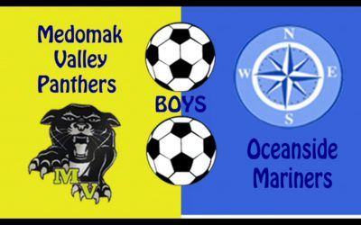 Maine Class B Boys Soccer : Medomak Valley vs Oceanside 10/2/2020