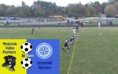 JV Boys Soccer : Medomak Valley vs. Oceanside. October 2, 2020