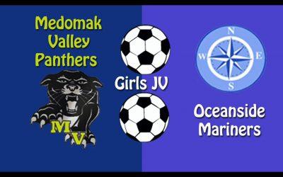 Girls JV Soccer : Medomak Valley vs. Oceanside 10/9/2020