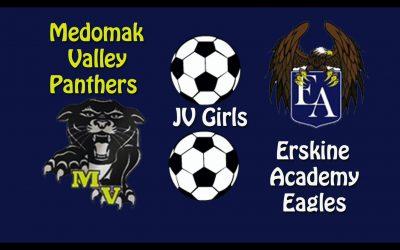 Maine Class B Girls JV Soccer: Medomak Valley vs. Erskine Academy 10/22/2020