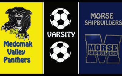 Maine Class B Boys Soccer : Medomak Valley vs. Morse 10/24/2020