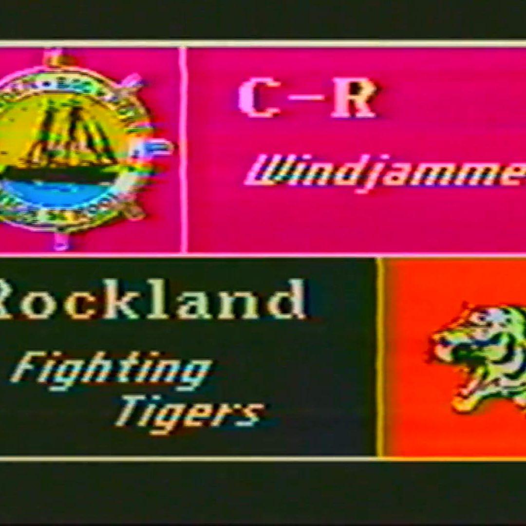 Vintage Girls Basketball Game, Season # 2, Game # 4 : Camden -Rockport vs. Rockland Feb 9, 1995