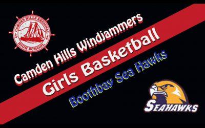 High School Girls Basketball : Camden Hills vs. Boothbay Region  1/19/2021
