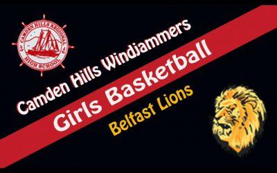 2021 Maine High School Girls Basketball: Camden Hills vs. Belfast 2/17/2021