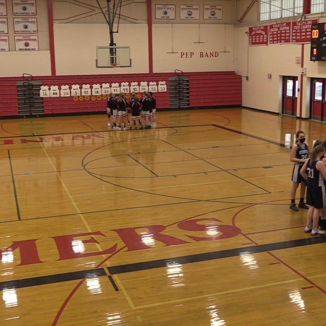 Maine High School Girls Basketball : Camden Hills vs. Oceanside 2/23/2021