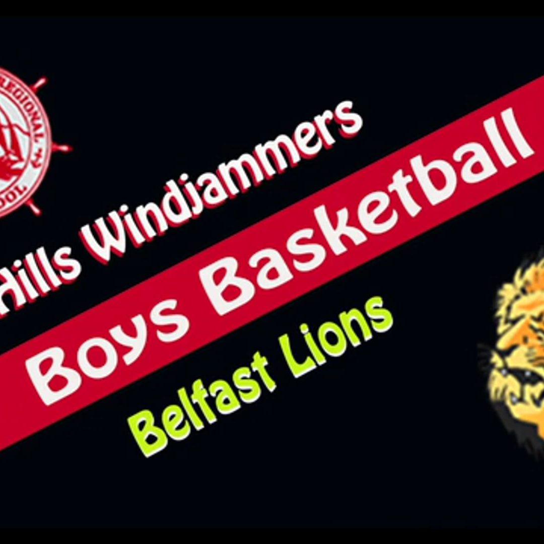 2021 Maine High School Boys Basketball : Camden Hills vs. Belfast 2/26/2021