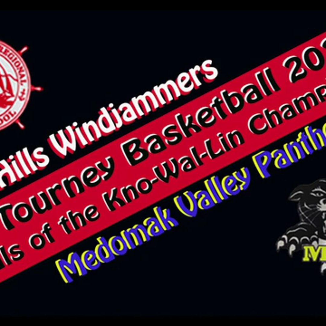 Boys Basketball Kno-Wal-Lin Championship 2021: Medomak Valley vs. Camden Hills
