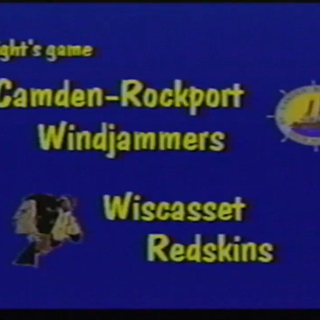 Maine Vintage Boys Basketball Season 2 # 1: Camden-Rockport vs. Wiscasset 12/15/1998
