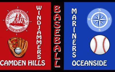 2021 High School Baseball : Camden Hills vs. Oceanside 4/19/2021
