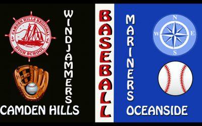High School Baseball: Camden Hills vs. Oceanside Game # 2 on 4/19/2021