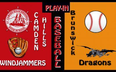 2021 Maine High School Class A North Baseball : Play-In Game Camden Hills vs. brunswick