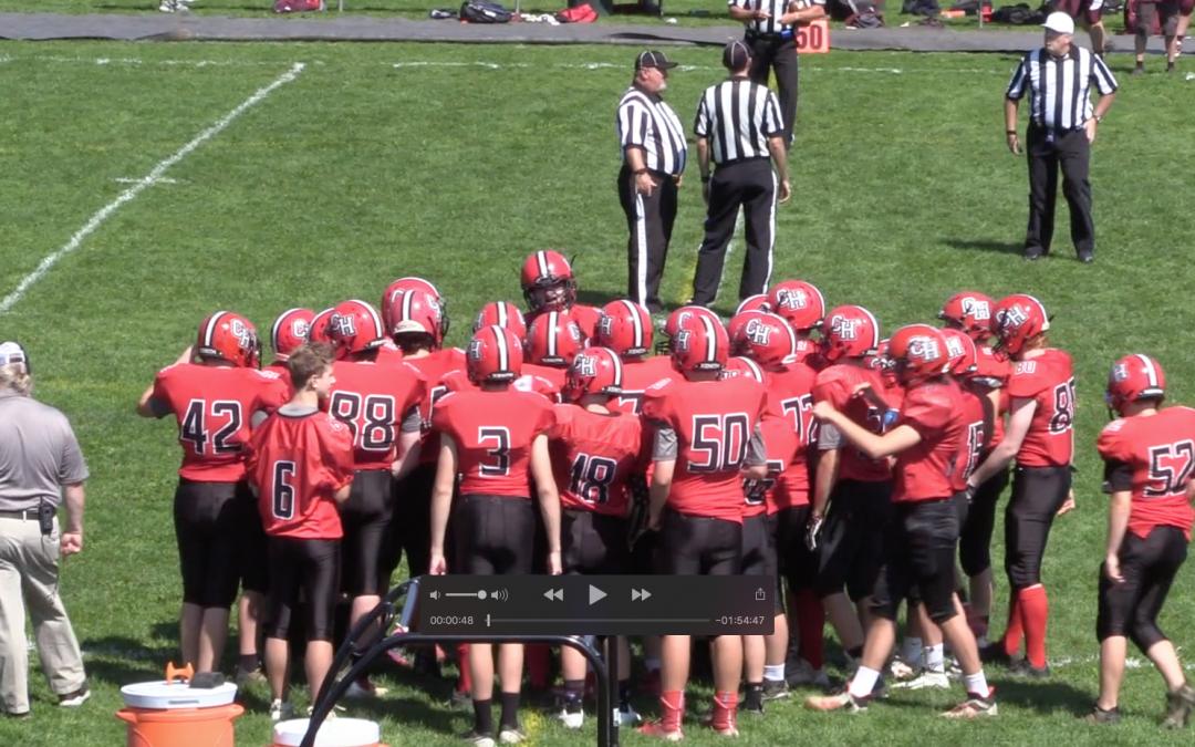 Maine High School 8 Man Football : Camden Hills vs. Orono 9/4/21