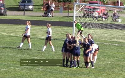 Maine High School Girls Soccer : Medomak Valley vs. Gardiner 9/7/21