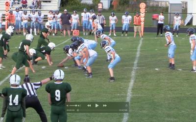 Maine High School Football : Oceanside vs Old Town football 9/13/21