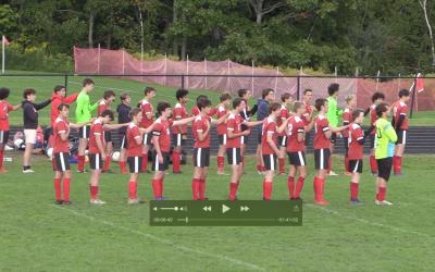 Maine Class A Boys Soccer : Camden Hills vs Brunswick boys soccer 10/1/21