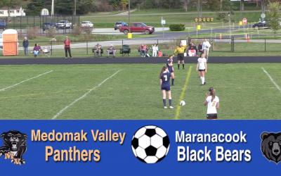 Maine High School Girls Soccer : Medomak Valley vs. Maranacook 10/5/21