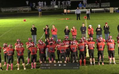 Maine High School Football : Homecoming Game, Camden Hills vs. Morse 10/9/21