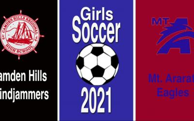 Maine Class A Girls Soccer : Homecoming Game Camden Hills vs. Mt. Ararat 10/9/21.
