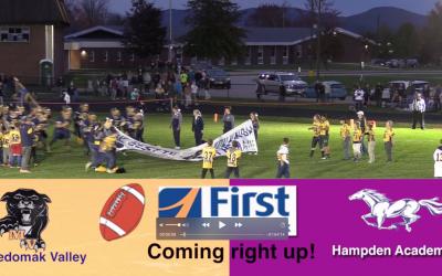 Maine High School Football : Medomak Valley vs Hampden Academy 10/18/21